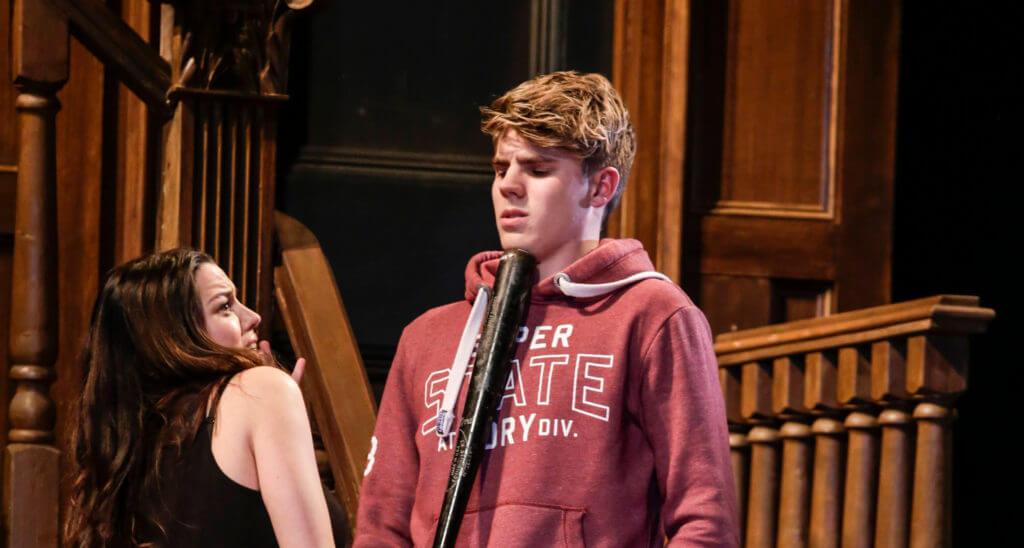 Caroline Morahan and Jay Duffy in THe 24 Hour Plays: Dublin 2015