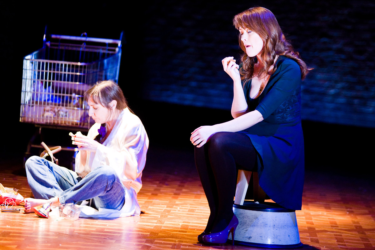 IT'S THE END OF THE WORLD AS WE KNOW IT AND I FEEL HUNGRY by FIONA LOONEY Directed by ALAN KING   Assistant Director AINE O'HARA Starring PAULINE McLYNN, STEFANIE PREISSNER, and MARIE RUANE