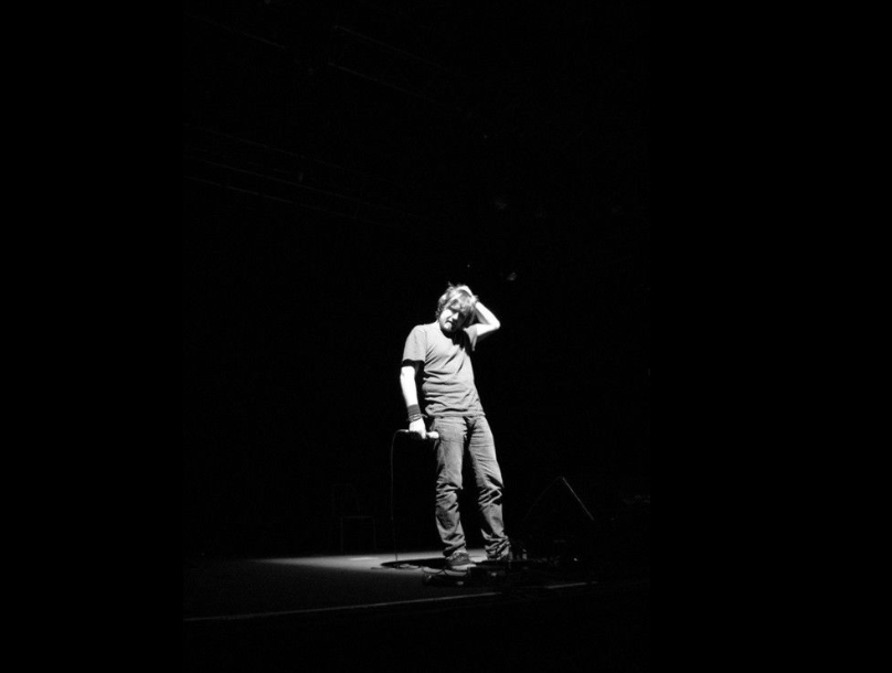 Paddy C Courtney performs live at Vicar St.